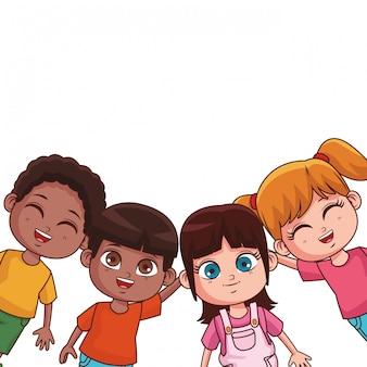 Милый детский мультфильм