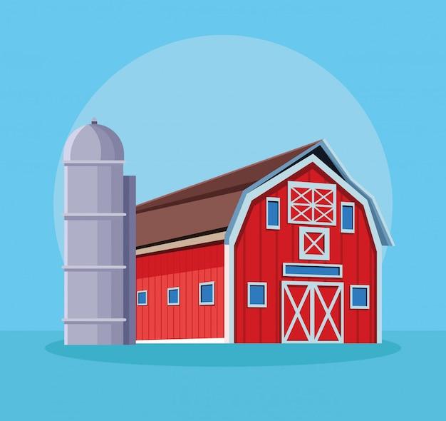 Ферма сарай мультфильм