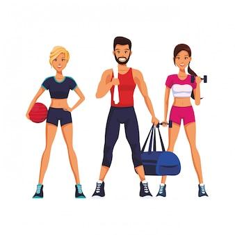 運動をしている人に合う