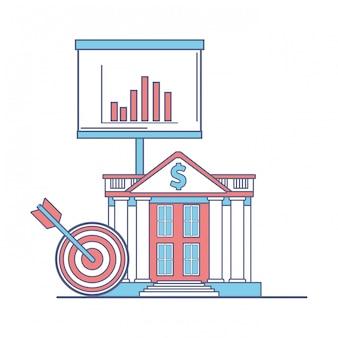 Банк строит финансовые иконки