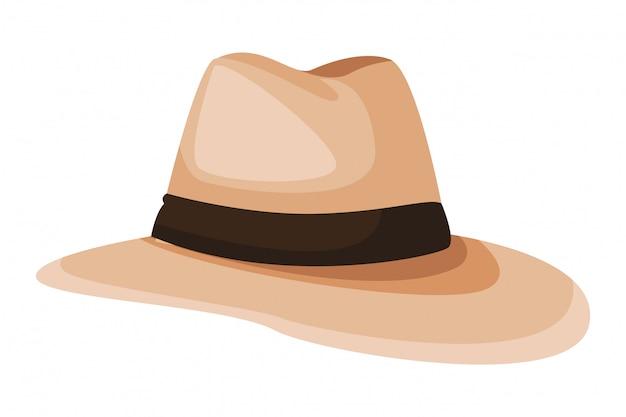 パナマ帽子アイコン
