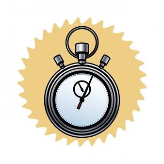 Значок таймера секундомера