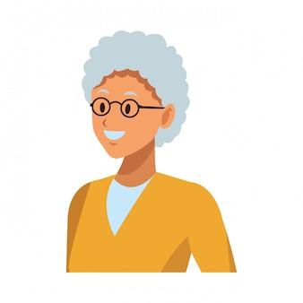 歳の女性のプロファイル