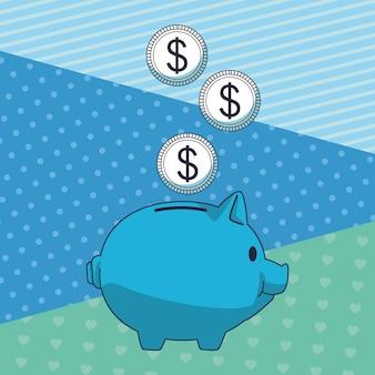 ビジネス貯蓄お金要素