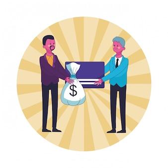 Бизнес, экономящий деньги мультфильм
