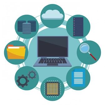 コンピュータと情報アイテム
