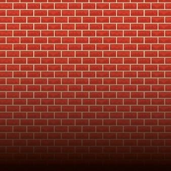 レンガ壁の背景漫画