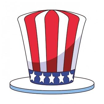 アメリカ国旗ハット漫画