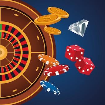 カジノゲームの漫画