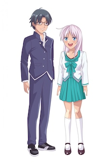 Пара аниме манга