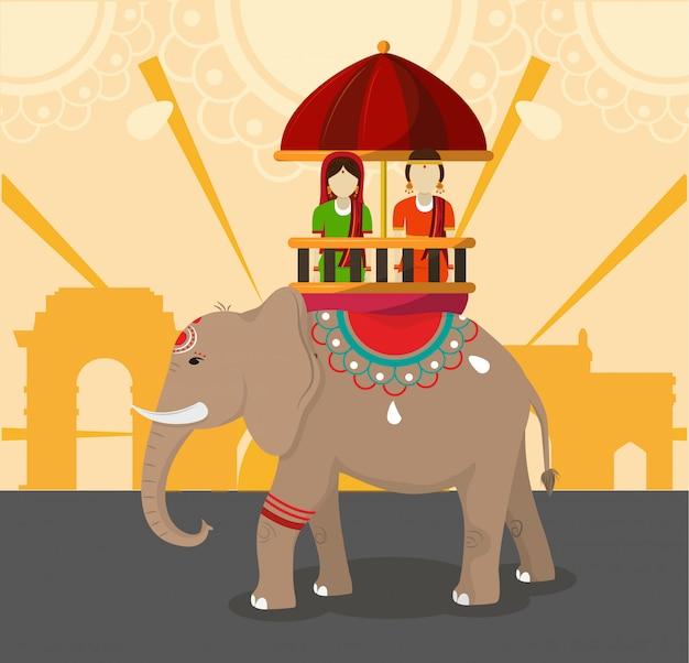 インドの文化と旅行