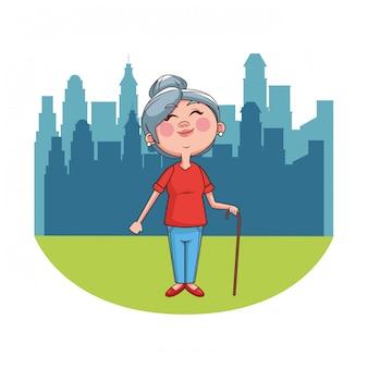 おばあさん長老市