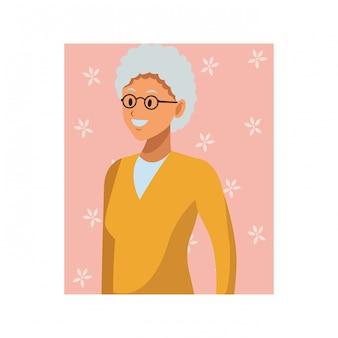歳の女性の肖像画