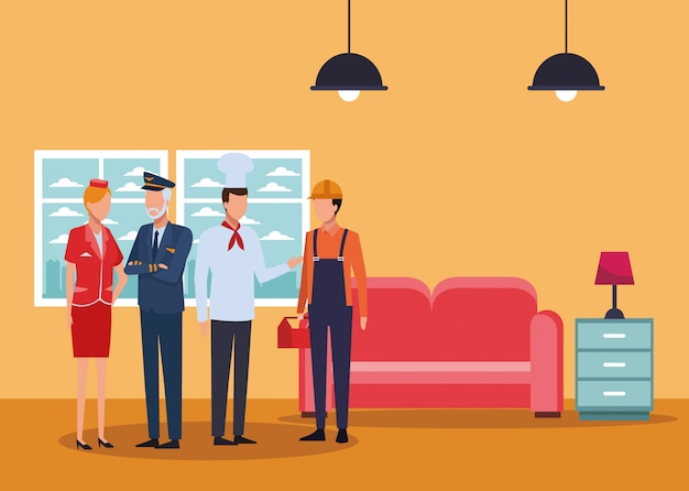 仕事と職業のアバター