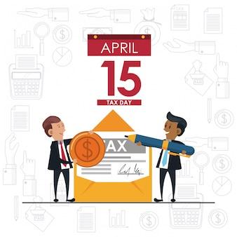 День налоговой символики и мультфильмы