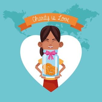 子供の寄付と慈善事業