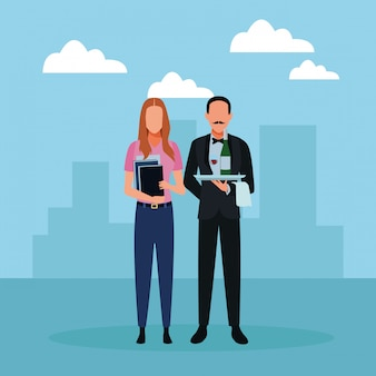 Аватары рабочих мест и профессий