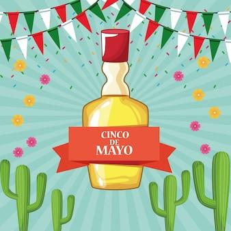 メキシコシンコデマヨのお祝い