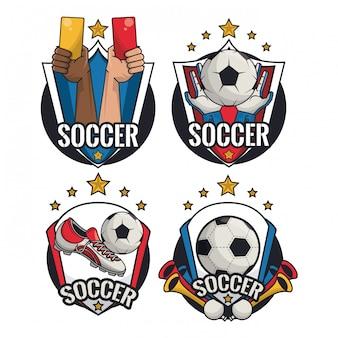 サッカースポーツゲーム