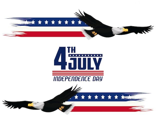 Открытка ко дню независимости сша