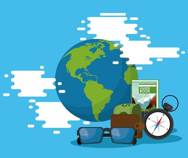 Элементы путешествий и туризма
