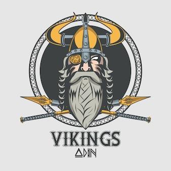 Воины викингов напечатали футболку