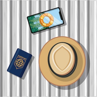 旅行の旅と観光のアイコン