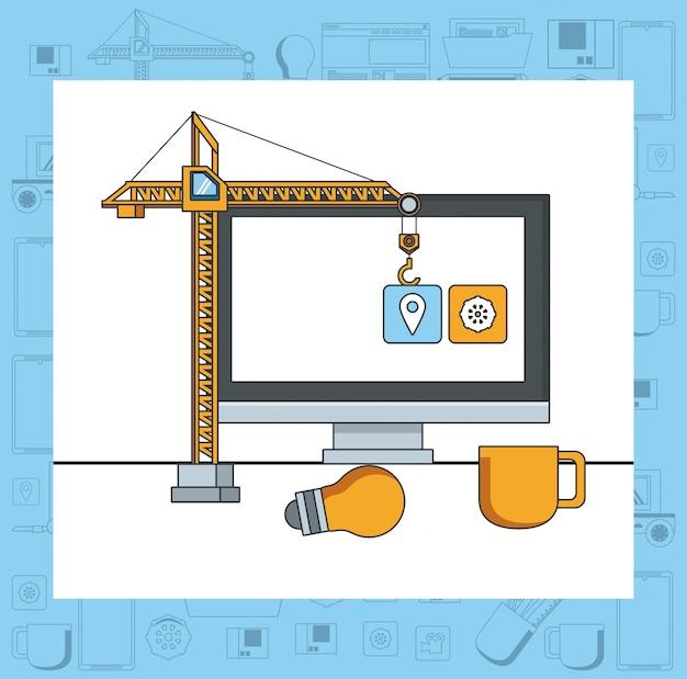 技術機器メンテナンス支援コンセプト漫画