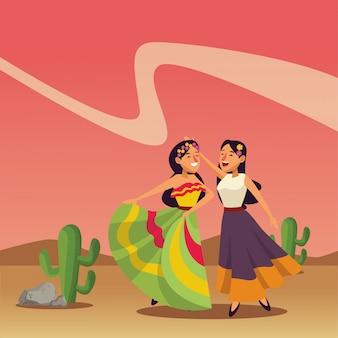 メキシコの伝統文化のアイコン漫画