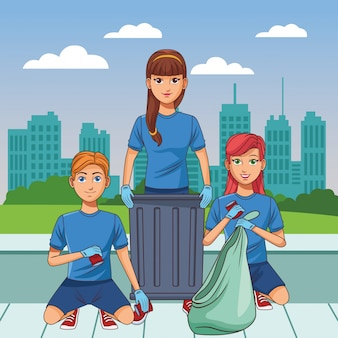 Служба уборки лица аватар мультипликационный персонаж