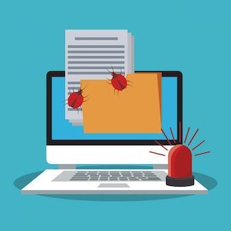 Ноутбук файл и система безопасности