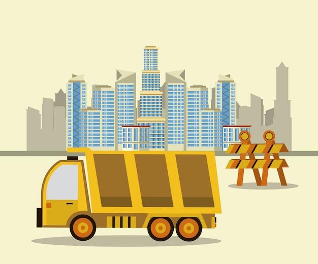 建設中の建物や機械