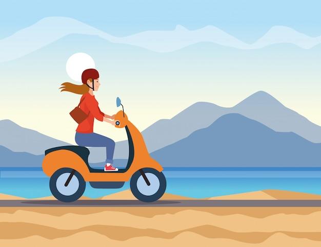 Путешествие верхом на скутере