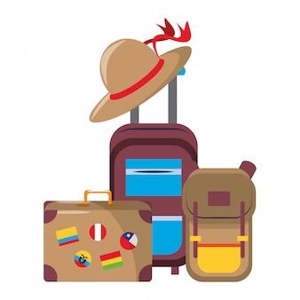 世界一周旅行のシンボル