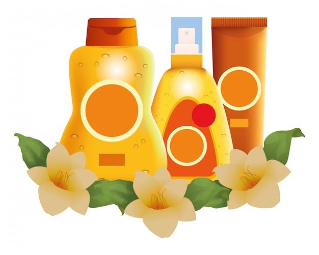 花とサンブロンズ化粧品