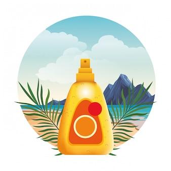 サンブロンザーボトル化粧品