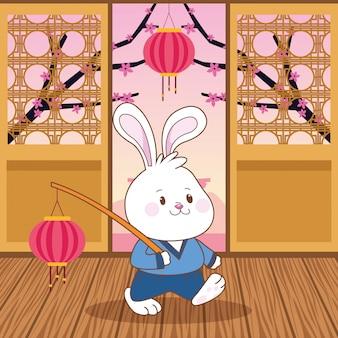 Середина осени китайский фестиваль мультфильмов
