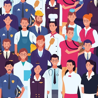 Профессиональные рабочие день труда мультфильмы