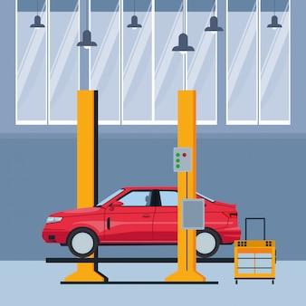 産業自動車製造の漫画