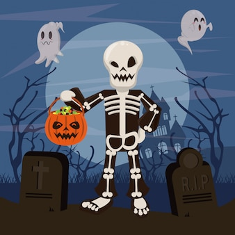 Хэллоуин смешные и страшные мультфильмы