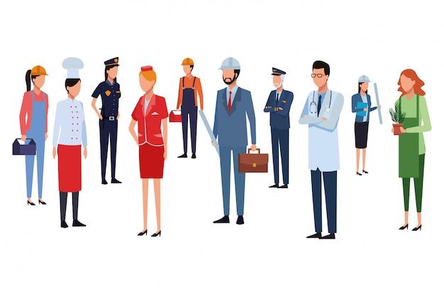 Работа и профессия аватара