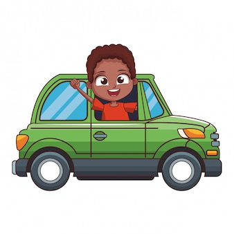 漫画少年運転車
