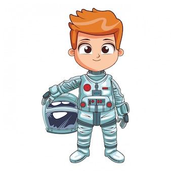 Мультфильм мальчик-космонавт