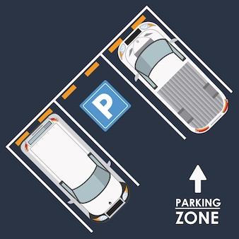 駐車場平面図