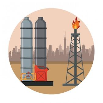 石油機械工場