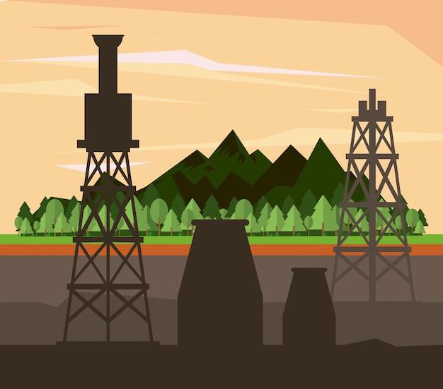 石油産業と機械