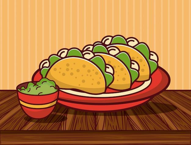 Вкусные мексиканские гастрономические мультфильмы