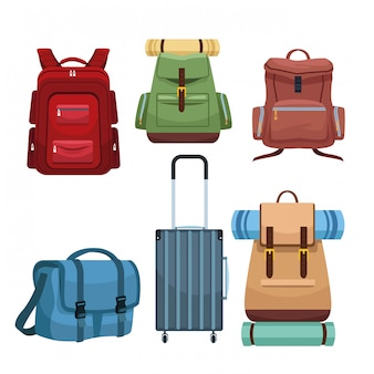 Туристические походные рюкзаки и багаж