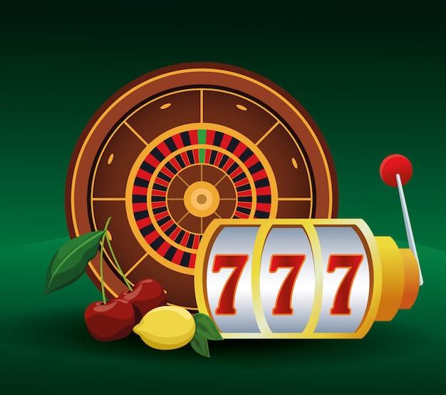 Рулетка игрового автомата и ставки на фрукты азартные игры казино