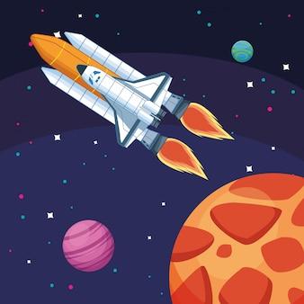 Летающие космические корабли планет космических исследований